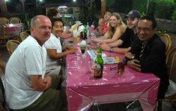 Having meals,Bali Horse Riding,Bali Horse Riding