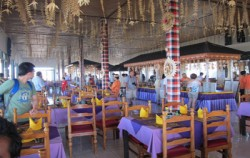 Interior Restaurant,Bali Restaurants,Grand Puncak Sari Restaurant