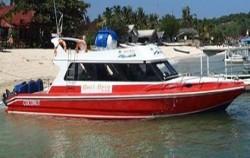 Bali Brio Cruise, Boat at Lembongan