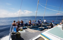 Aristocat Deck,Bali Cruise,Aristocat Sailing Catamaran