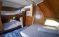 Cabin on the boat,Komodo Adventure,Komodo Tour 3 Days/ 2 nights Package