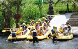 Starting Point,Bali rafting,Alam Amazing Rafting
