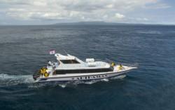 Depart of Boat image, Arthamas Express, Lembongan Fast Boats