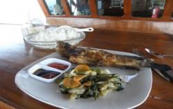 Full Meals on Board,Komodo Boats Charter,Apik Phinisi Boat