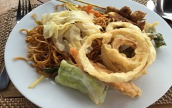 Fried Noodles,Bali restaurants,Bali Madu Sari Restaurant