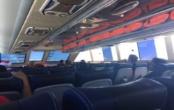 Interior of The Boat,Gili Islands Transfer,Freebird Express
