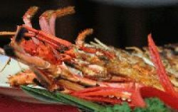 Set Menu Lobster,Bali Restaurants,Furama Bumbu Bali Cafe