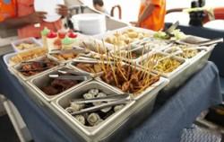 Lunch Buffet image, Ocean Rafting 3 Islands Day Cruise, Bali Cruise
