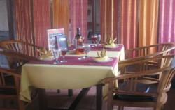 Lunch Table Setup image, Bali Indian Food, Bali restaurants