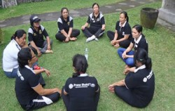 Outside Retreat,Bali Spiritual Tours,Love and Light Meditation Package