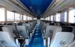 Boat Interior,Nusa penida fast boats,Crown Fast Cruises