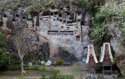 TORAJA CULTURE AND NATURE TOUR TOUR INCL. MAKASSAR 5 Days / 4 Nights, Toraja Hanging Graves
