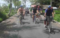 Celebrity Cycling Tour Bali,Bali Cycling,Bali Emerald Cycling Tour