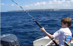 Bottom Trolling Fishing by Ena, Bali Fishing, Children Fishing
