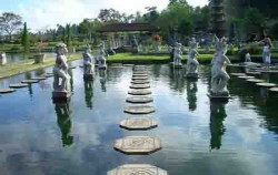 Goa Lawah and Karangasem Tour, Tirta Gangga