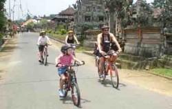 cycling with the family,Bali Cycling,Jatiluwih & Kintamani Cycling