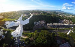 Yesus Monument View,Manado Explore,Manado Tour 3 Days & 2 Nights Package