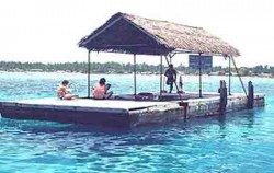 Floating Hut at Lembongan image, Lembongan Island Beach Club Cruise, Bali Cruise