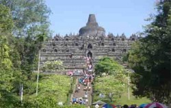 Borobudur View,Borobudur Tour,One Day Borobudur Tour