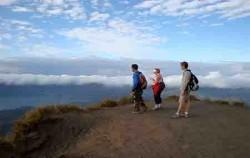 Enjoy at Batur Mount,Bali Trekking,Mount Batur Trekking