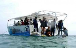 Seawalker pontoon image, Sea Walker Adventure, Bali Sea Walker