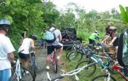 Ubud Bali Cycling, bike riders