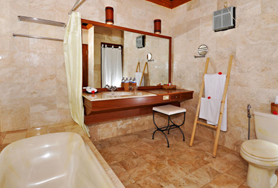 Bathroom, Anaheim Villas Lake Buyan, Bedugul