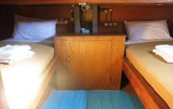 Aqua Luna Phinisi, Komodo Boats Charter, Twin Bedroom