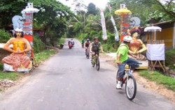 Village Cycling,Bali Cycling,Bayan Cycling Tour