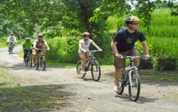 Bayan Cycling Tour, Bali Cycling, Village Cycling