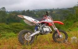Bali Cross, Motorbike