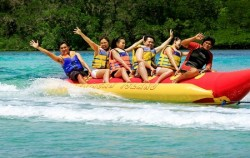 Banana Boat,Lembongan Package,Bali Underwater Scooter