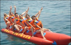 Bali Funtasea, Nusa Penida Packages, Banana Boat