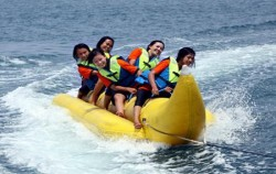 Banana Boat,Benoa Marine Sport,Marine Sport Packages by North Coast