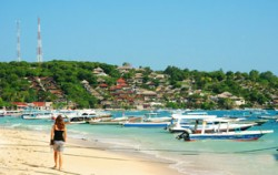One Day Package by Scoot Fast Cruise, Lembongan Package, Lembongan Beach