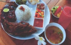 Set Menu Mixed,Bali Restaurants,Bebek Uma Dawa Restaurant