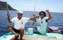 Fishing Using Traditional Boat image, Traditional Boat Fishing, Bali Fishing