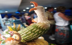 Buffet Decoration image, Sunset Dinner Cruise, Bali Cruise
