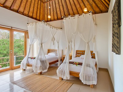 Bedroom View - Lembongan Cliff Villas - Lembongan Island