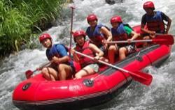 Exploring Telaga Waja River image, Bukit Cili Rafting Bali, Bali Rafting