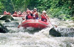 Telaga Waja River image, Bukit Cili Rafting Bali, Bali Rafting