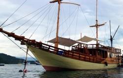 Phinisi Cajoma III, Komodo Boats Charter, Phinisi Cajoma III