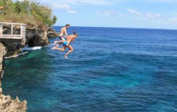 Cliff Jumping Lembongan,Lembongan Package,Lembongan Cliff Jumping and Snorkeling