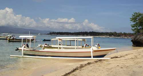 Coconut Beach View - Lembongan Cliff Villas - Lembongan Island
