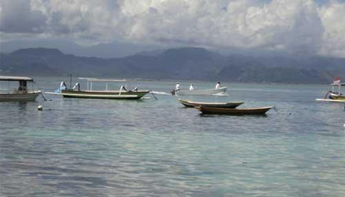 Coconut Beach - Lembongan Cliff Villas - Lembongan Island