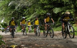 Cycling Momment,Bali Cycling,Cycling Tour by BiO