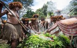 Dani Tribe Pig feast,Papua Adventure,Baliem Valley Package 4 Days 3 Nights