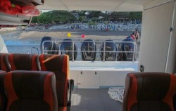 Dcamel Fast Ferry, Lembongan Fast boats, Dcamel Interior