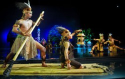 Papua Dance Show,Balinese Show,Bali Nusa Dua Theatre