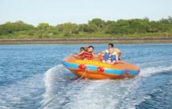 Marine Activities in Serangan, Donut Boat Serangan